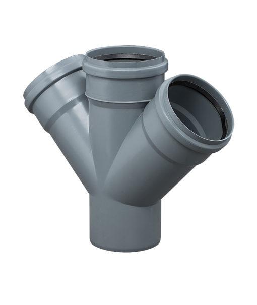 instalplast-kanalizacja-wewnętrzna-czwórnik