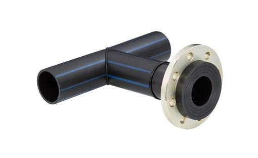 system-ciśnieniowy-z-HDPE-do-wody-i-kanalizacji-trójnik-kołnierzowy-PE-100